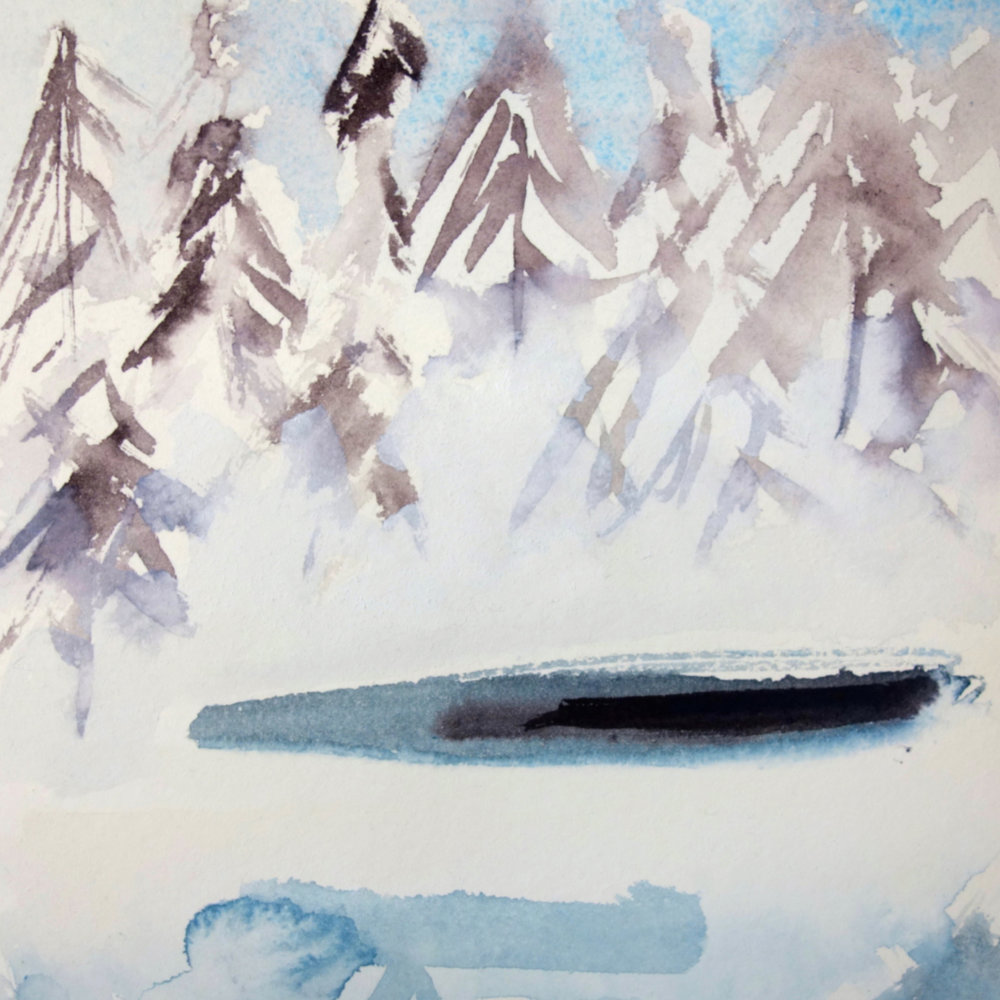 2013: Yellowstone Series Watercolors