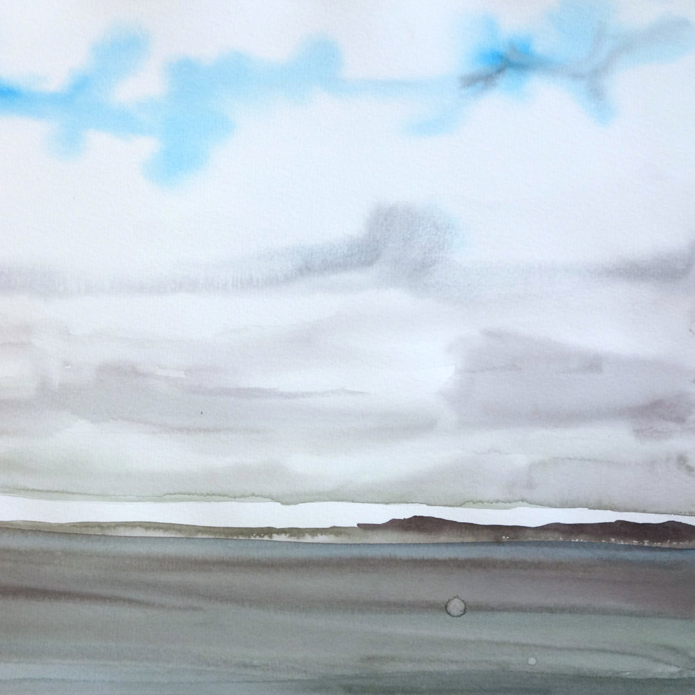 2007: Sea and Sky Watercolors