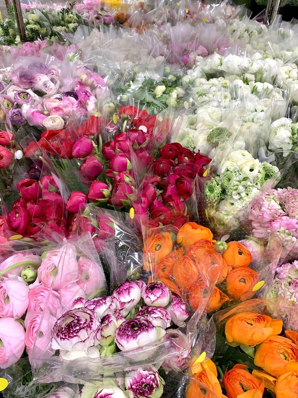 flower market fabulousness