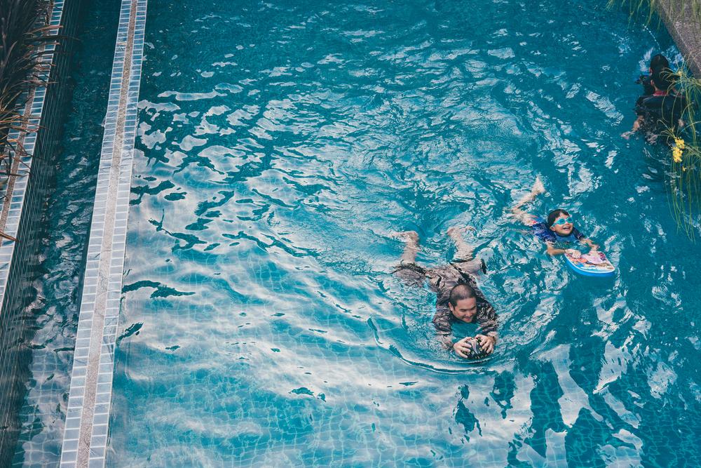 สระว่ายน้ำระบบเกลือ