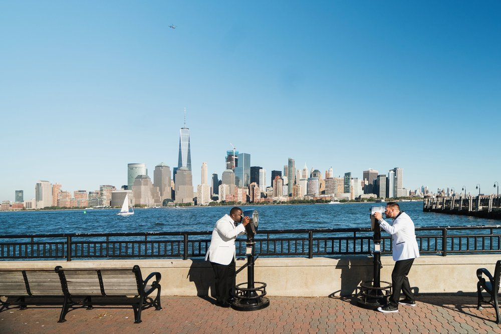 Keldrick and Eddie Wedding Photography at Liberty State Park in New York City by Stefan Ludwig Phtography-128-x.jpg