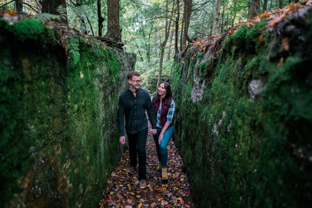 Jessica and JR Engagement Photography by Stefan Ludwig at Rock City State Park in Ellicottville, NY-16.jpg