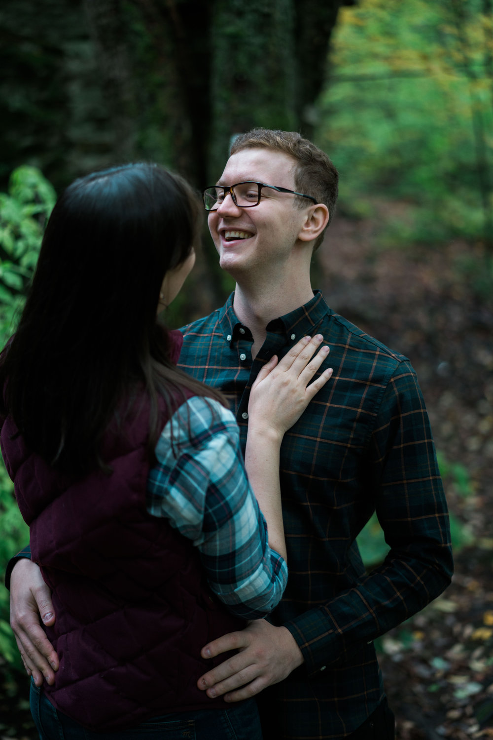 Jessica and JR Engagement Photography by Stefan Ludwig at Rock City State Park in Ellicottville, NY-42.jpg