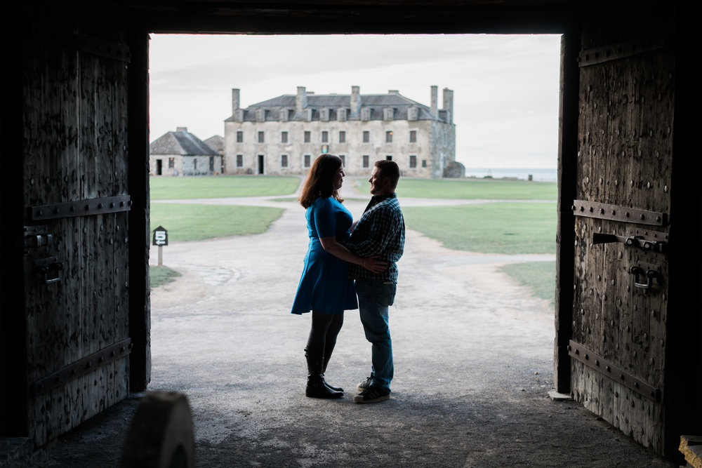 Mairin and Wade Engagement Photography at Old Fort Niagara in Youngstown NY by Stefan Ludwig Photography-30.jpg