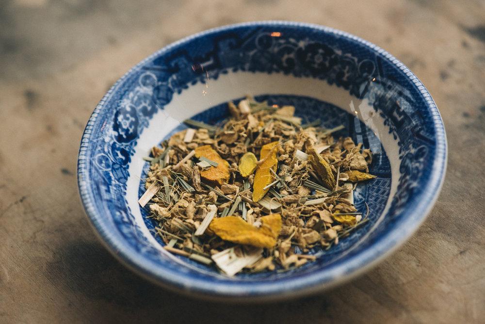 Tea Blends - Here is a description of your product. Adipiscing elit. Donec odio. Quisque volutpat mattis eros. Nullam malesuada erat ut turpis.