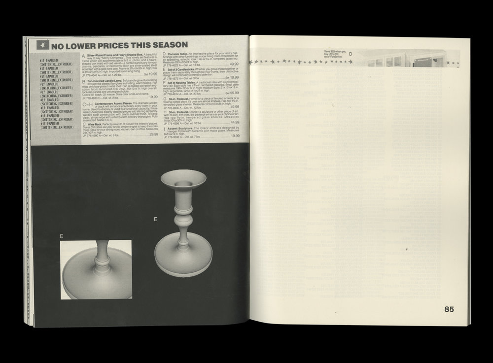 Consumer Catalog, 2018