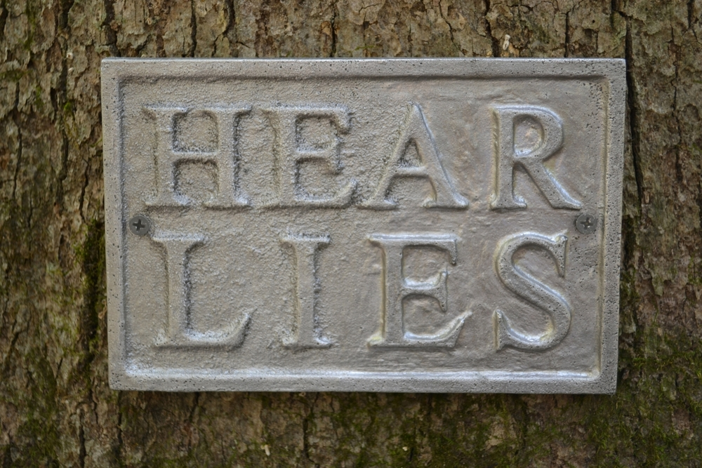 Hear Lies (detail)