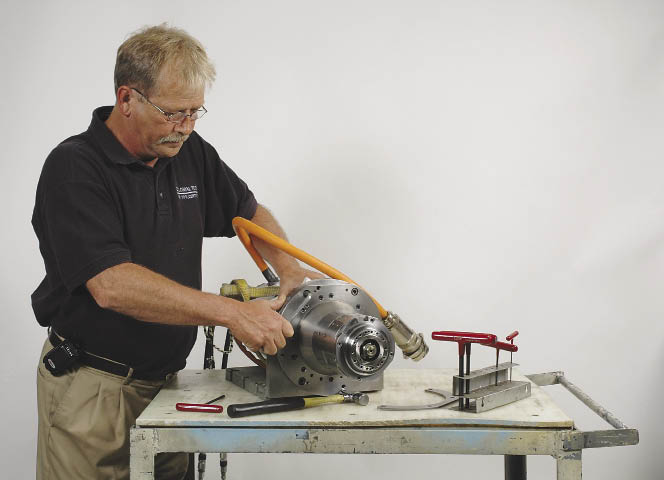 Spindle repairs