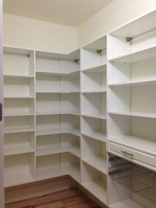 custom pantry shelving design closet shelving solutions