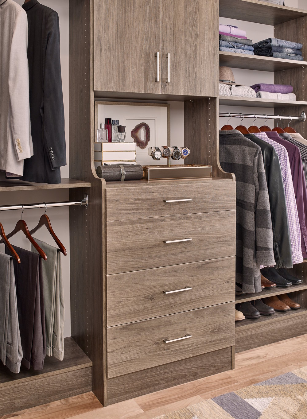 Closet Shelving Solutions - Custom Closets and Shower Doors in ...