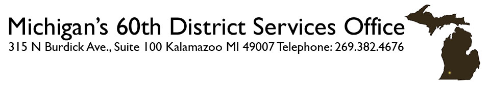 Michigan's 60th District Service Office