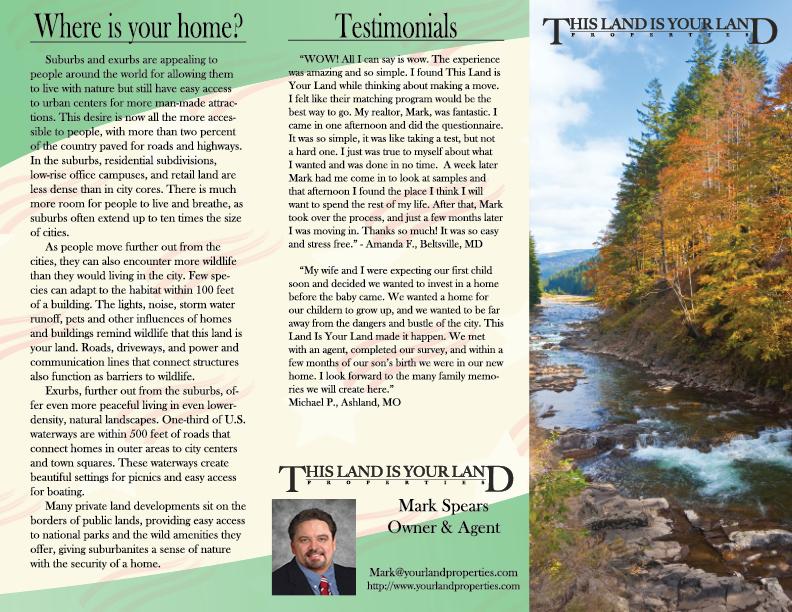 Brochure Design for MFA Thesis