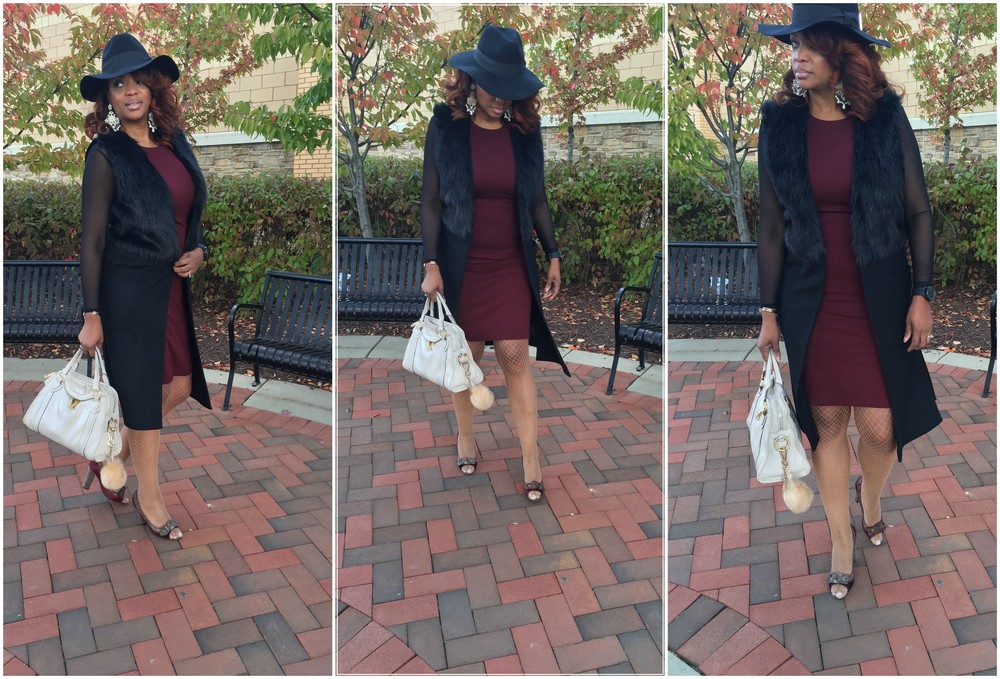 I was doing my Sophisticated Chic right here! #ChicHappens
