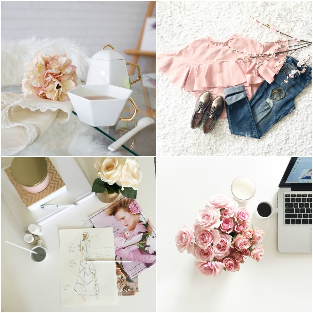 Beautiful flatlay and off-figure styling by Jackie!