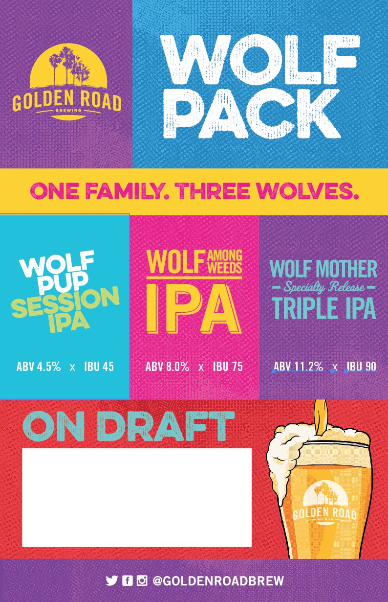 WOLF PACK POSTER W/BLANK SPACE PDF
