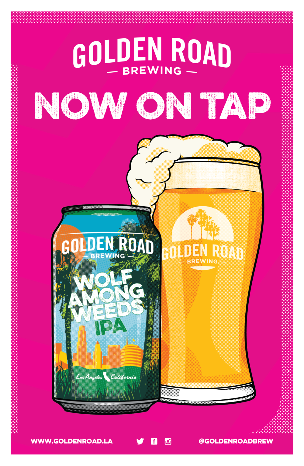 """WAW Now On Tap Poster 11"""" x 17"""" —   PDF"""