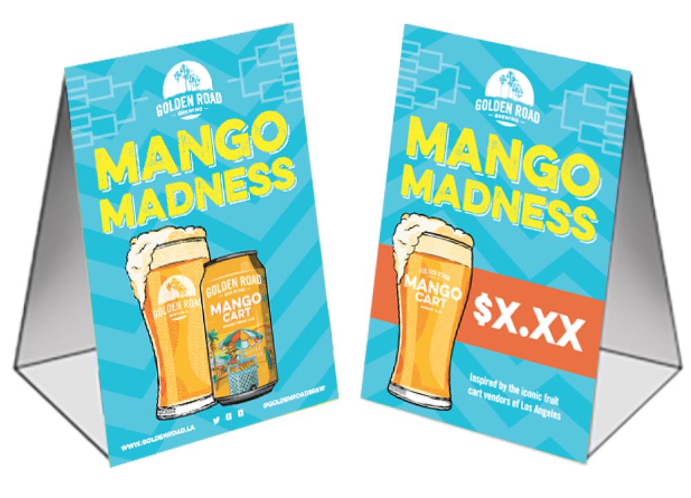 "Mango Madness Table Tent 4"" x 6"" —   PDF ,  AI"