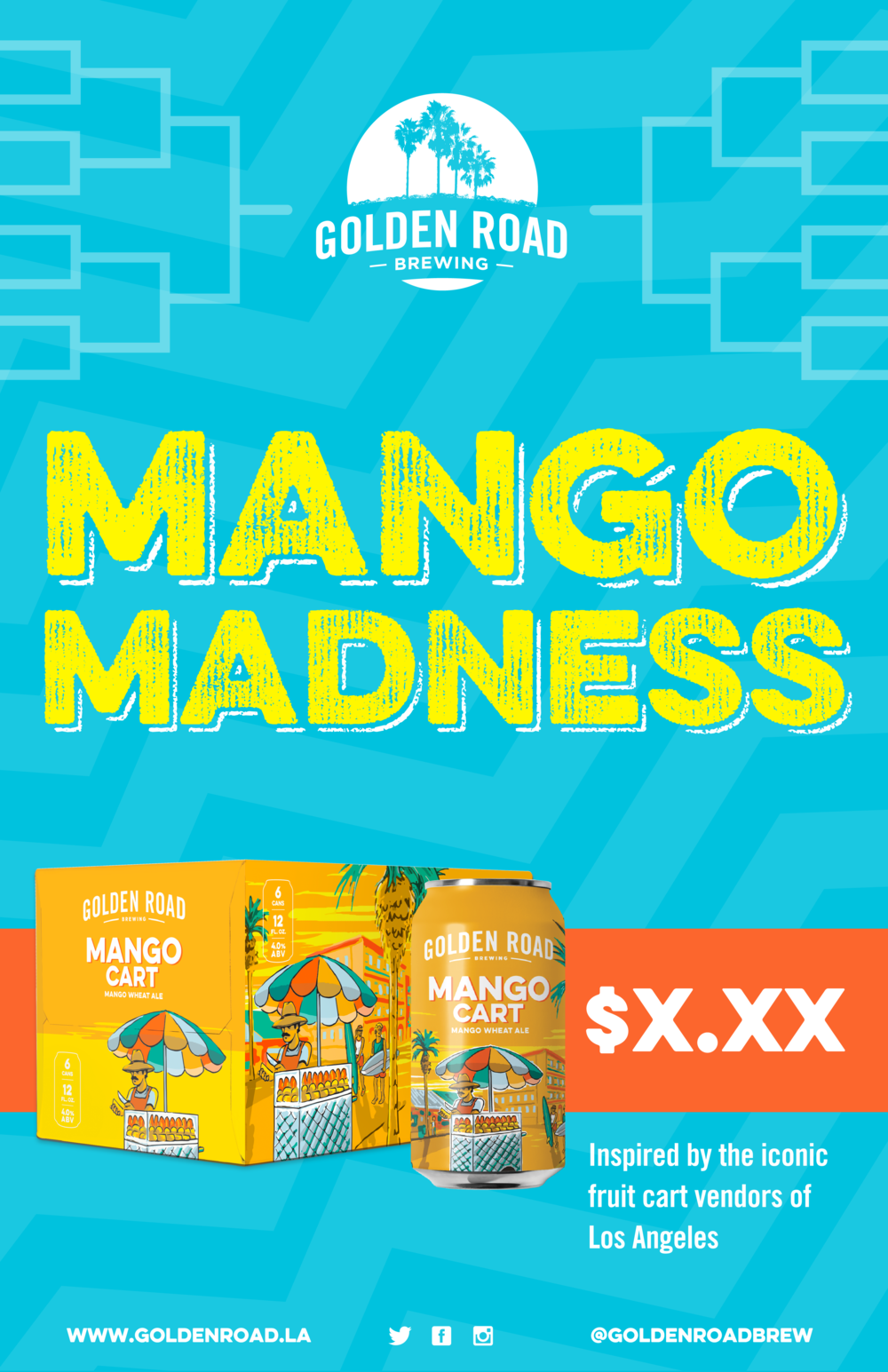 "Mango Madness 6 PK Off Prem Poster 11"" x 17"" —   PDF ,  AI"