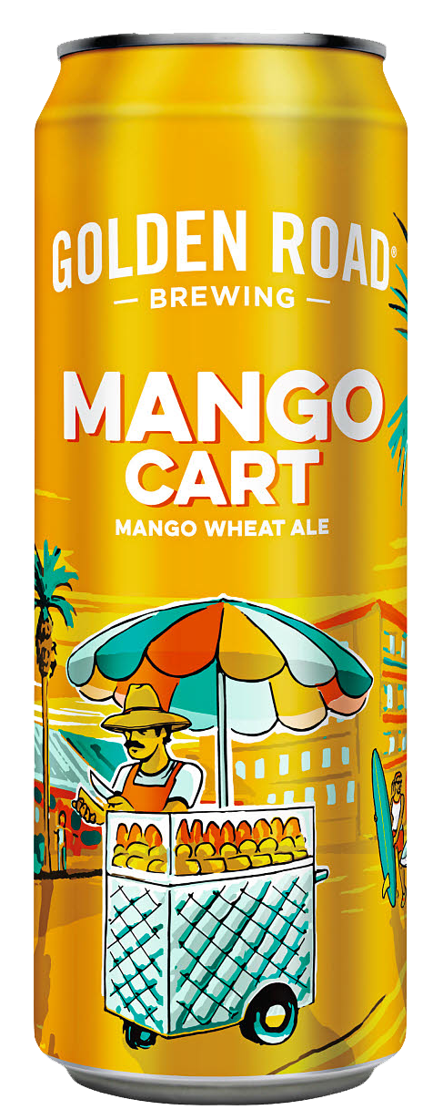 Mango Cart 25 Oz Can —   PNG