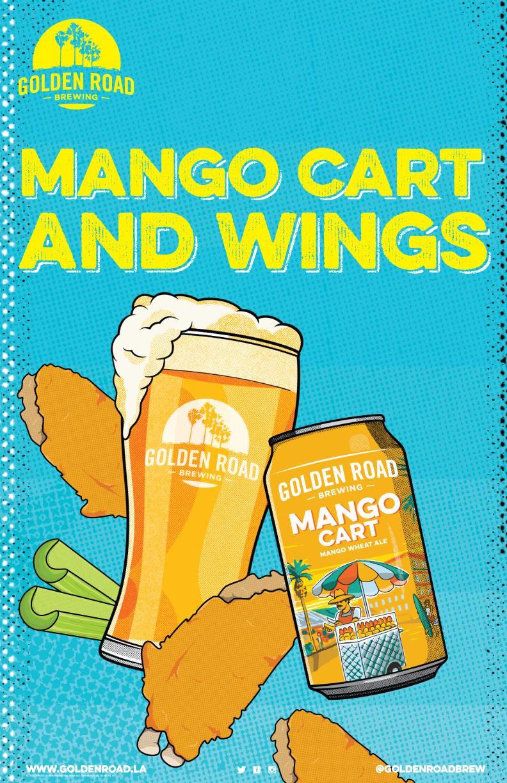 Mango Cart Poster 11 x 17 —   AI ,  PDF