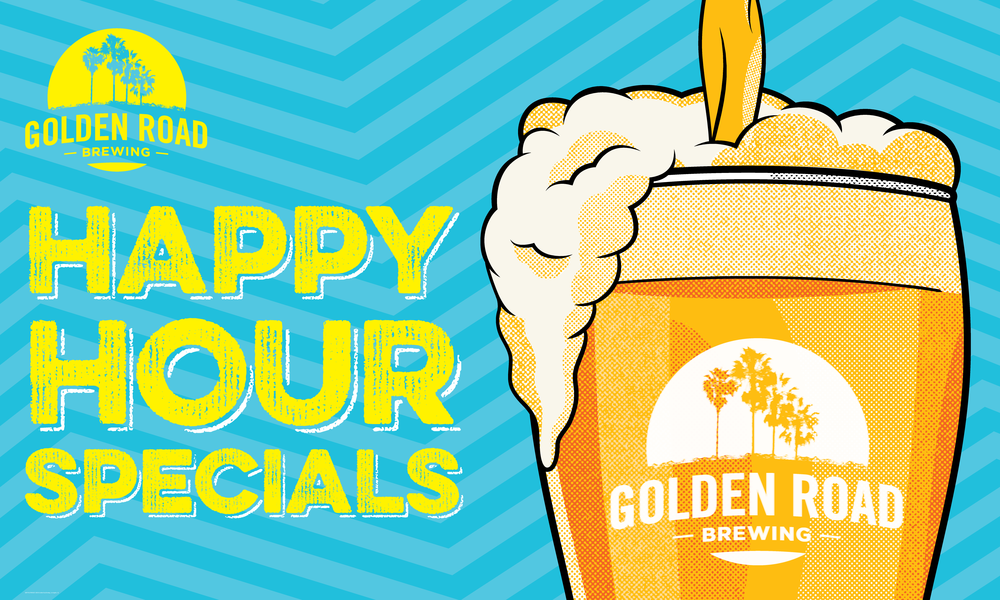 Happy Hour Banner 3'x5' —   ZIP