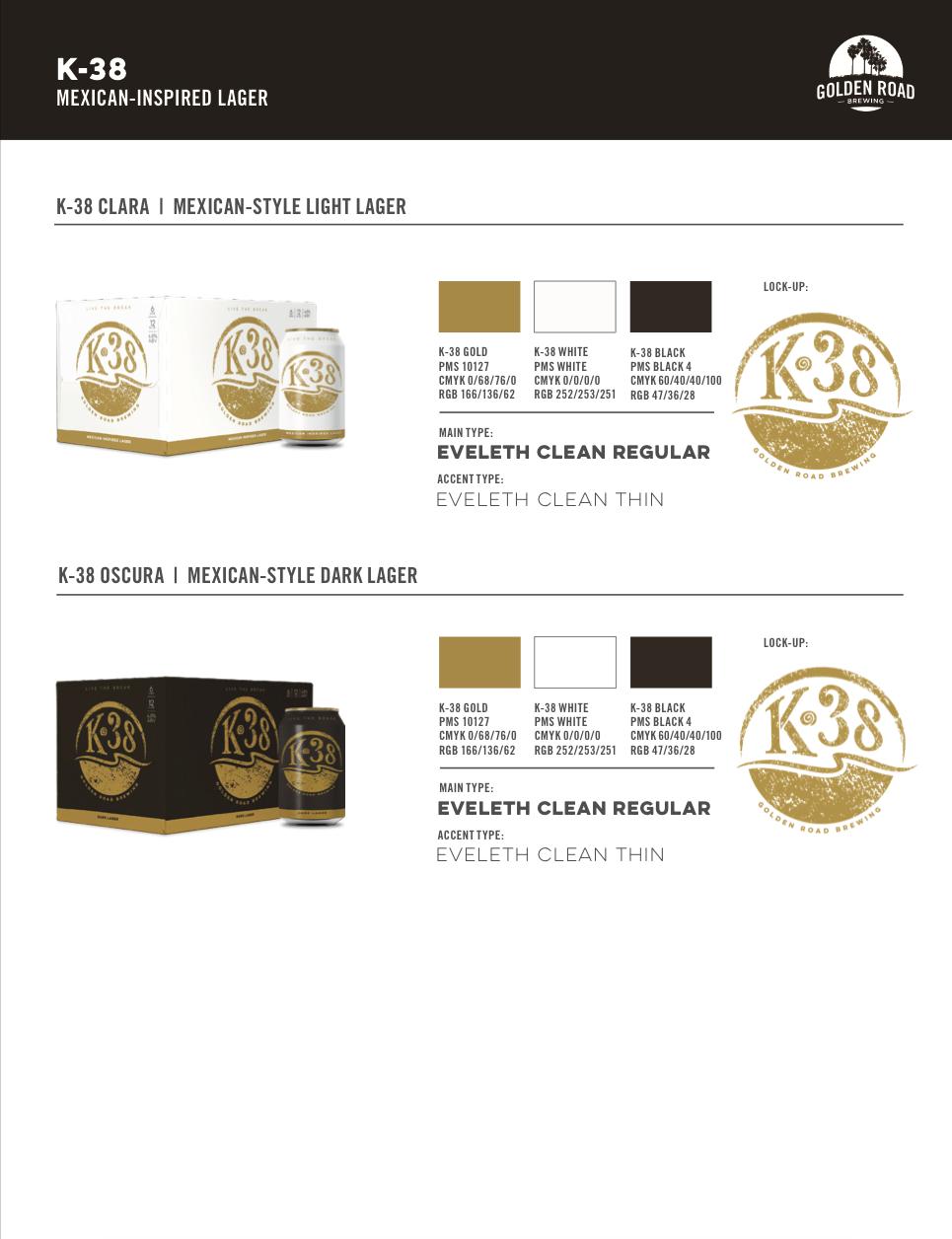 K-38 Brand Info —   PDF