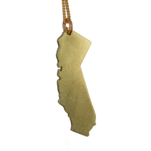 California pendant necklace vittrock california pendant necklace aloadofball Image collections