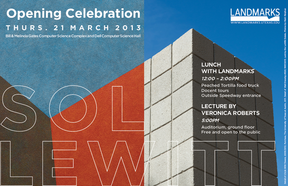 Landmarks Event, Opening Celebration Sol LeWitt