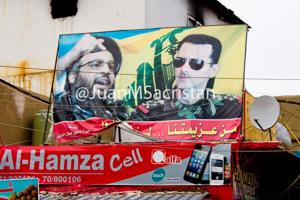 Baalbeck, tierra de Hizbulá (Líbano) 2013