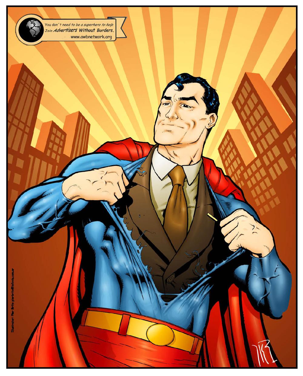 """Campaña """"Hero"""": You don`t have to be a superhero to help. Haz click en la imagen para ver el vídeo -->"""