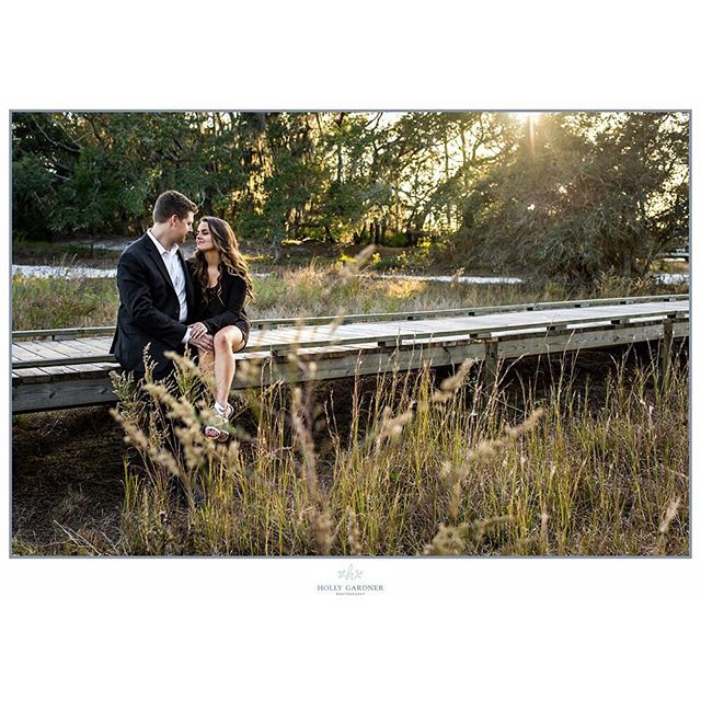 Another favorite from Brianne & John. That light was just so perfect!