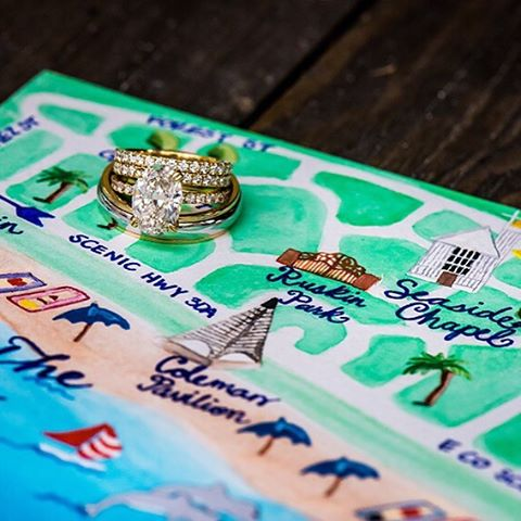 Going to the (Seaside) Chapel and we're... Gonna get married!  Looking forward to another sunny 30A wedding day!