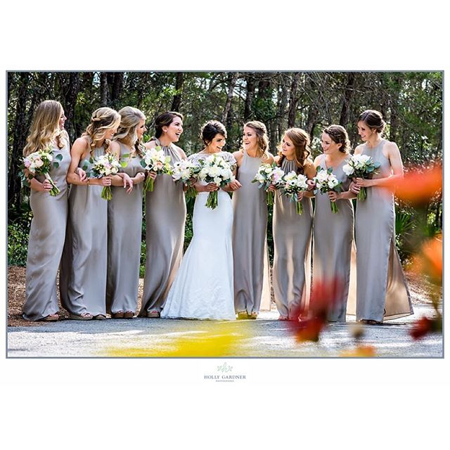 Happy girls, sunny days... Another beautiful wedding on 30A!