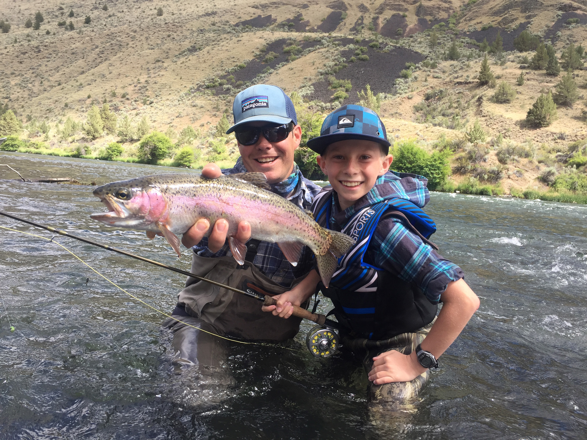 Best fly fishing near bend oregon fly fishing guides for Fishing lessons near me