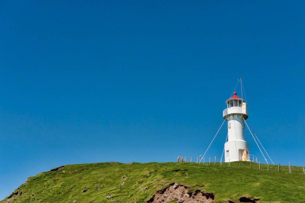 Lighthouse in Mykines