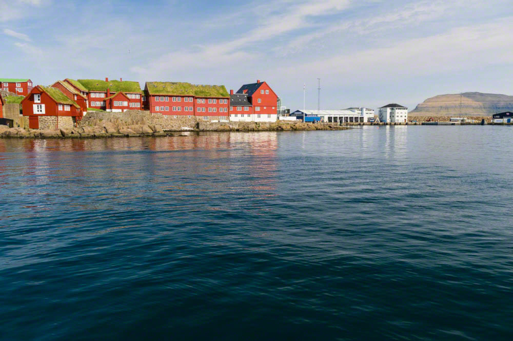 Governmental buildings in Torshavn