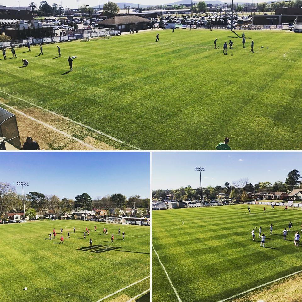 Photo from Huntsville High Soccer Facebook