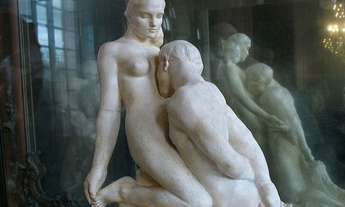 Sculpture by Auguste Rodin, 1889.