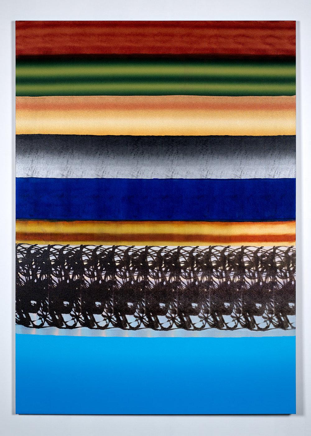 29-02 , 2017.Acrylic on canvas. 7'x5'.