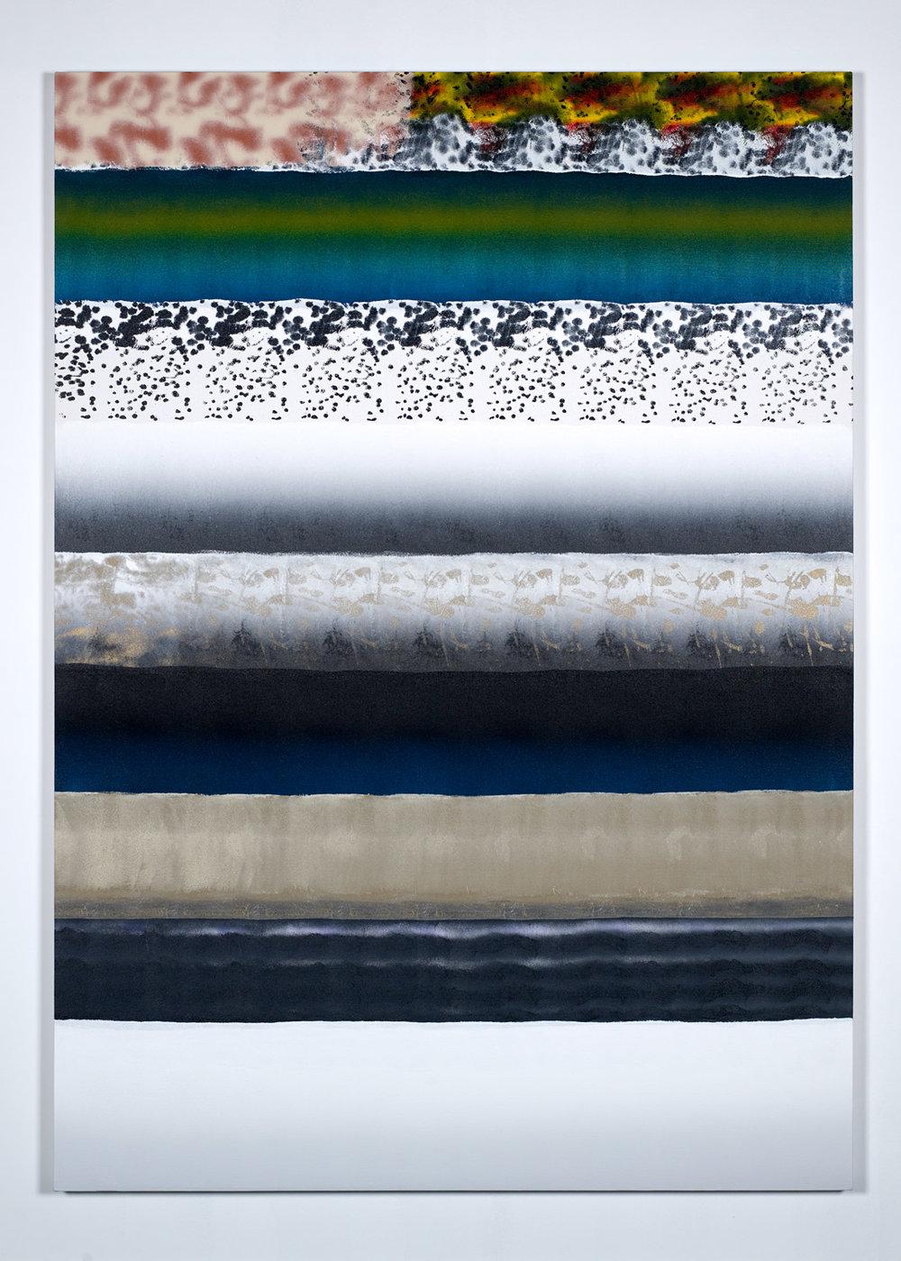 29-05 , 2017. Acrylic on canvas. 7'x5'.