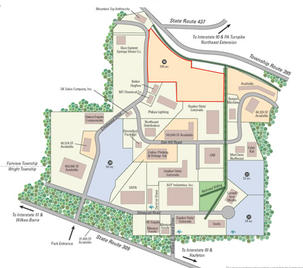 Crestwood indy park Map.png