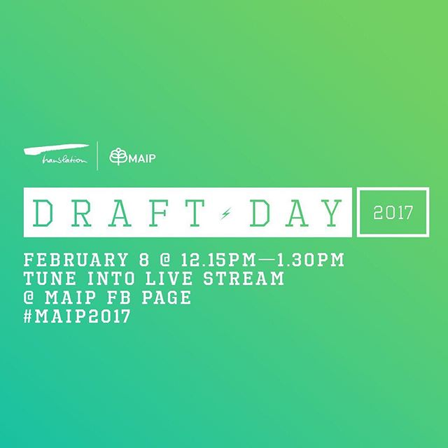 #MAIP2017 Selection livestream begins in a little over an hour! We'll post the link in our bio at 12:15pm ET #MAIPmatters #spreadtheMAIP
