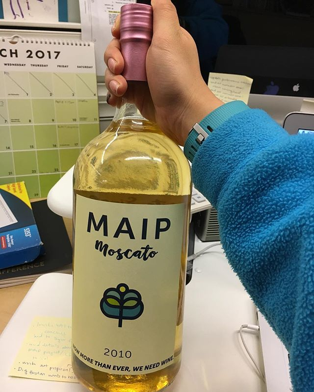 Our fearless leader Singleton Beato is leaving us to continue blazing her trail as McCann's new global chief diversity officer so we had to send her off with some MAIP libations. Good luck on your next chapter, Singleton! #MAIPmatters #winethirty #winewednesday #MAIPswag #nowtakingorders #MAIP2017