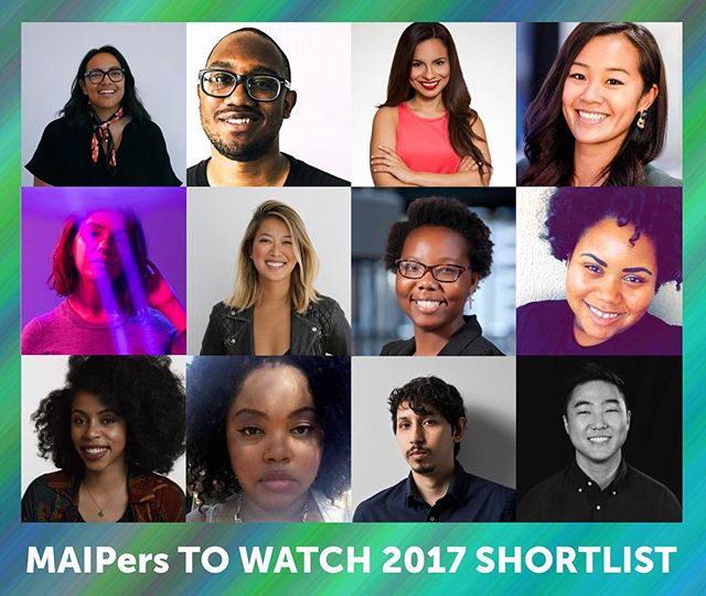 Congrats to our MAIPers to Watch shortlist! Winners will be announced at the Society of Excellence Evening Reception on Monday, August 7th. #MAIPmatters