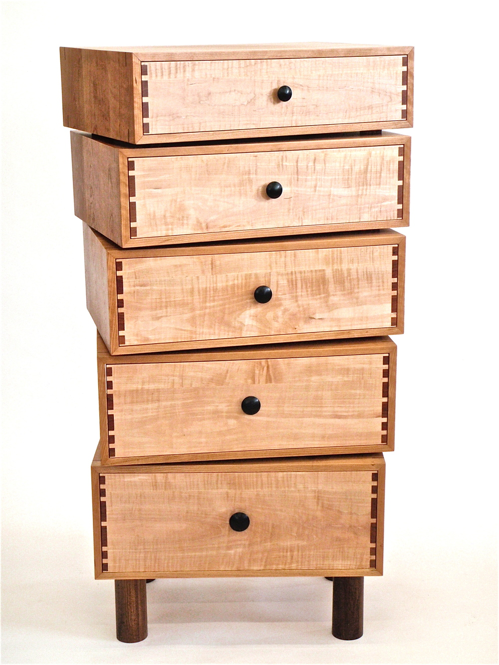 Stacked-box dresser
