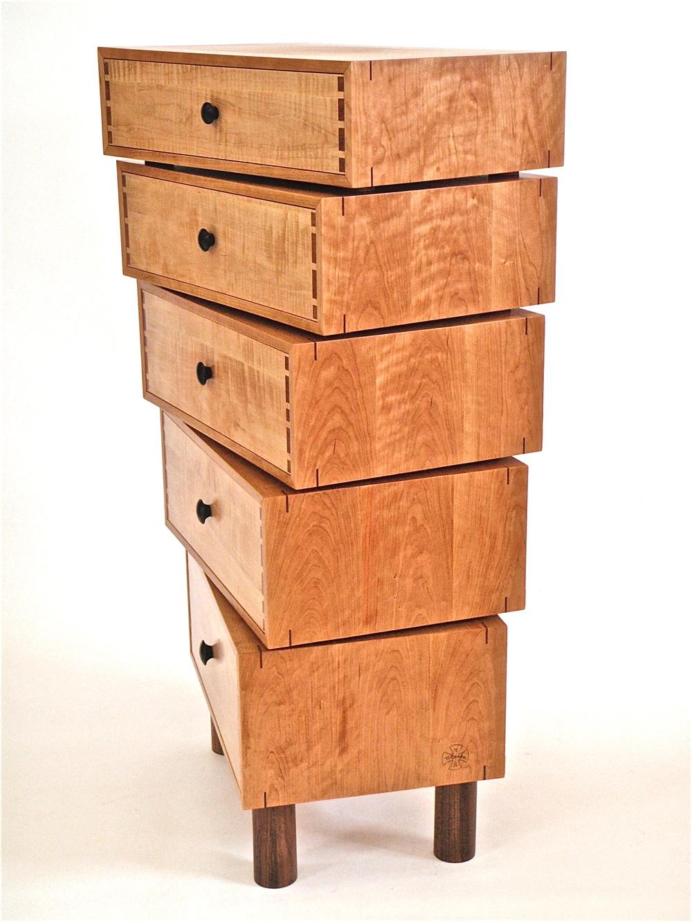 Stacked-box dresser