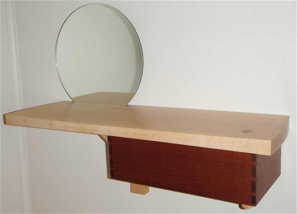 Mirror Wall Shelf 01