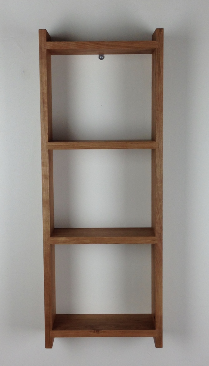 small vertical bookshelf