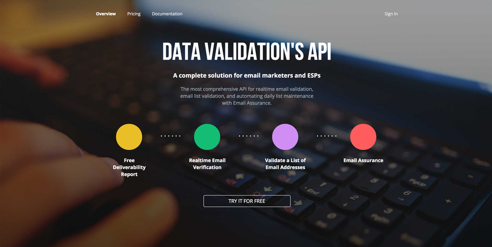 DataValidation API