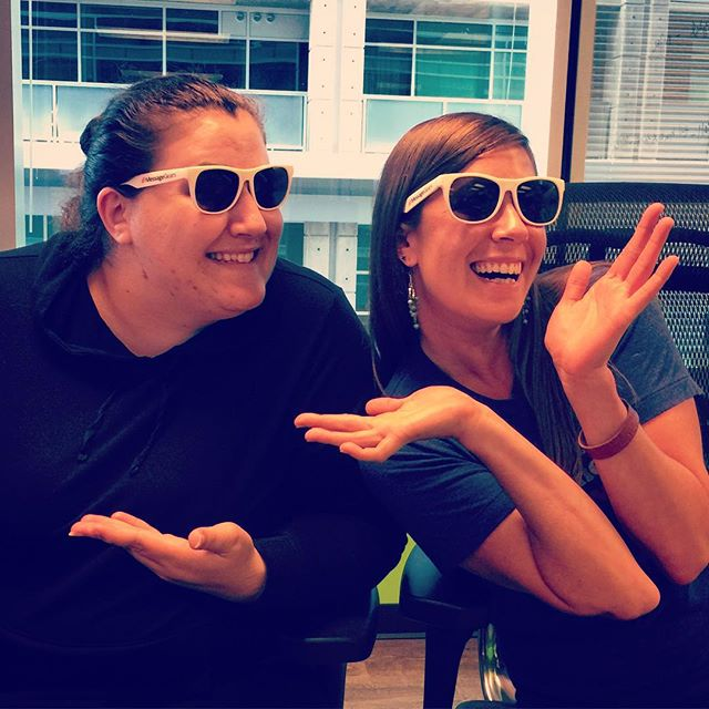 Twinsies! Thanks for the sweet swag @messagegears. #Atlanta #weloveemail #messagegears #email